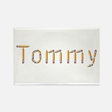 Tommy Pencils Rectangle Magnet