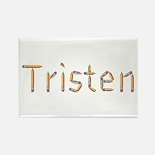 Tristen Pencils Rectangle Magnet