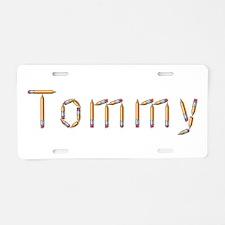 Tommy Pencils Aluminum License Plate