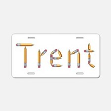 Trent Pencils Aluminum License Plate