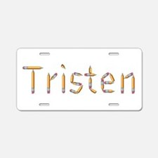 Tristen Pencils Aluminum License Plate