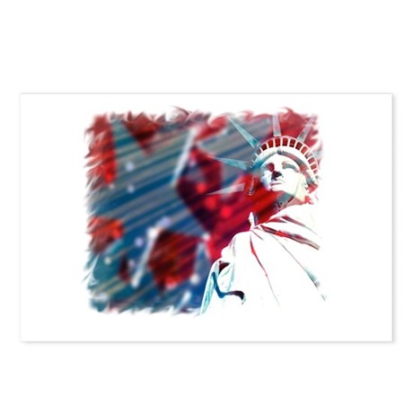9/11 Liberty Postcards (Package of 8)