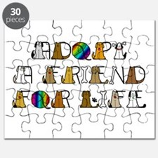 Adopt a Friend for Life Puzzle