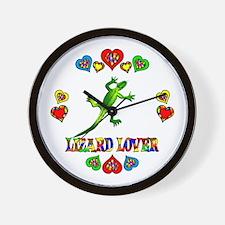 Lizard Lover Wall Clock