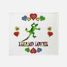 Lizard Lover Throw Blanket