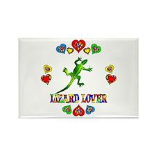 Lizard Lover Rectangle Magnet