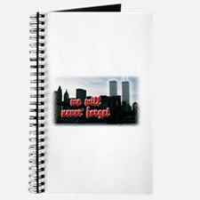 9/11 We Will Never Forget Journal