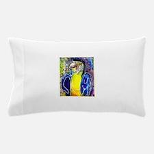 Blue/gold macaw! Bird art! Pillow Case