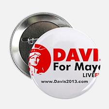 "Kristin Davis For Mayor - NYC 2013 2.25"" Button"