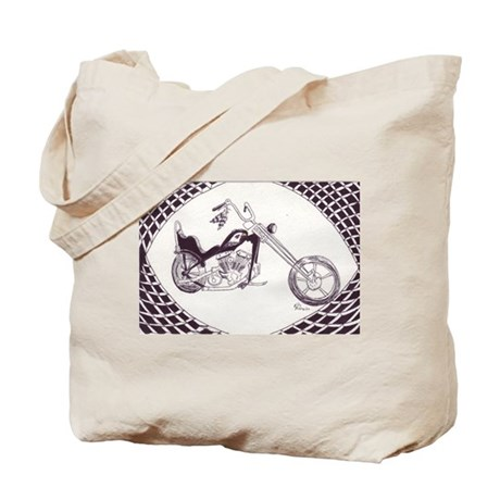Shovelhead chopper Tote Bag
