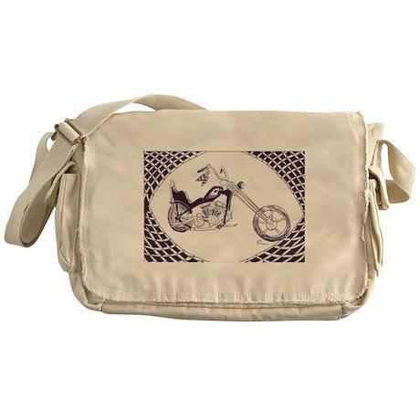 Shovelhead chopper Messenger Bag