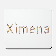 Ximena Pencils Mousepad
