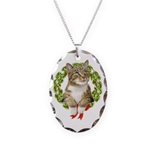 Christmas Cat Necklace
