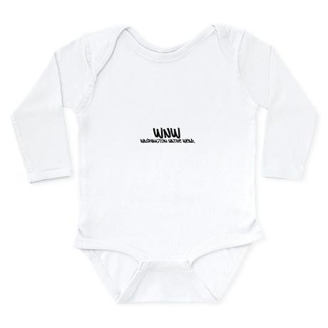 WNW Washington Native Wear Long Sleeve Infant Body