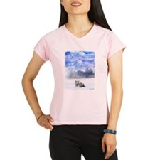 Whiter tiger in the snow Performance Dry T-Shirt