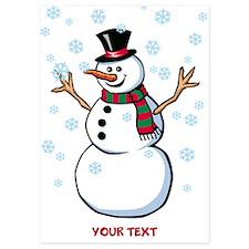 Custom Snowman Invitations
