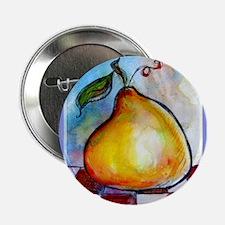 "Fruit, Pear! Bright art! 2.25"" Button"