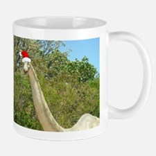 Christmas Dinosaur Mug