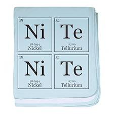 NiTe NiTe [Chemical Elements] baby blanket