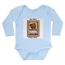 The Teddy Bear Touch Long Sleeve Infant Bodysuit