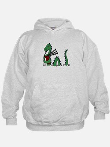 Loch Ness Monster Bagpipe Sweatshirt