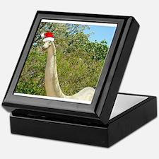 Christmas Dinosaur Keepsake Box