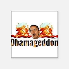 Obamageddon Rectangle Sticker