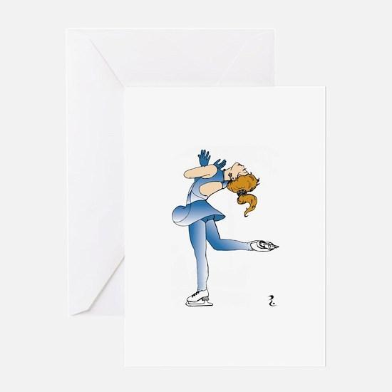 Kristy Skater Greeting Cards