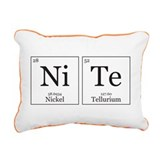 Periodic table of elements pillow Rectangle Canvas Pillows