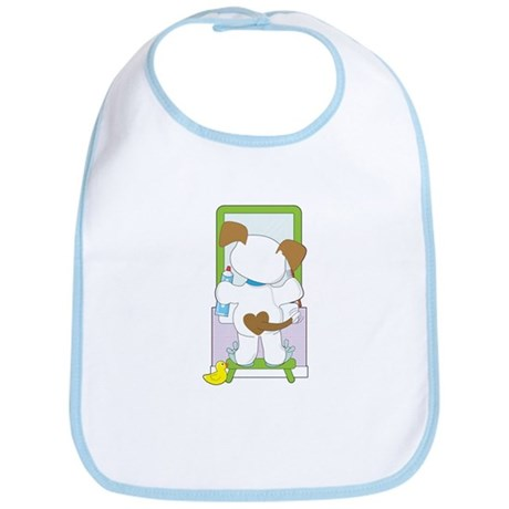 Cute Puppy Bathroom Bib
