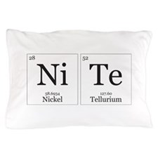 NiTe [Chemical Elements] Pillow Case