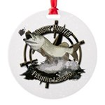Fishing legend Round Ornament