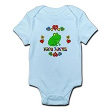 Frog Lover Infant Bodysuit