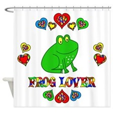 Frog Lover Shower Curtain