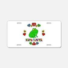 Frog Lover Aluminum License Plate