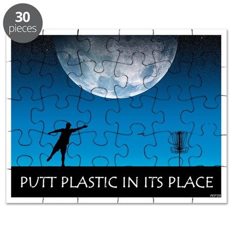 Putt Plastic In Its Place #6 Puzzle