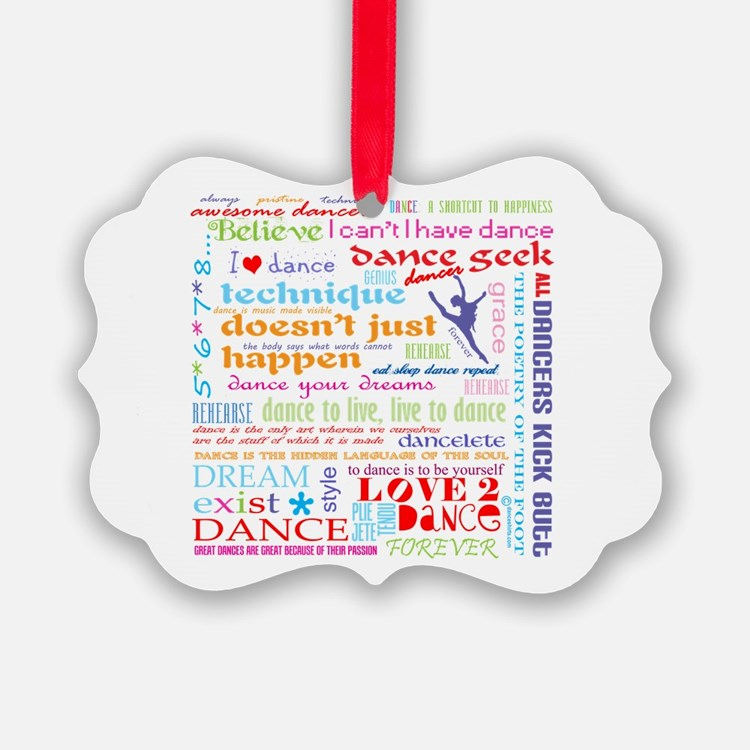 Ultimate Dance Collection Ornament