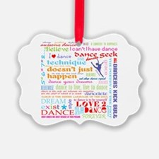 Ultimate Dance Collection Picture Ornament