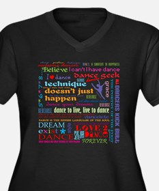 Ultimate Dance Collection Women's Plus Size V-Neck
