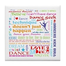 Ultimate Dance Collection Tile Coaster