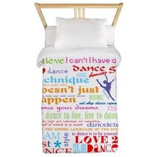 Ultimate Dance Collection Twin Duvet