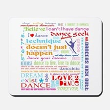 Ultimate Dance Collection Mousepad