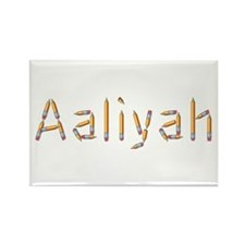 Aaliyah Pencils Rectangle Magnet