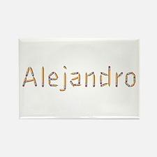 Alejandro Pencils Rectangle Magnet