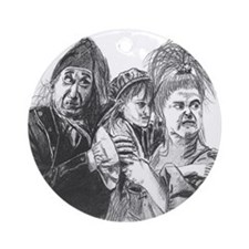Thenardier Ornament (Round)