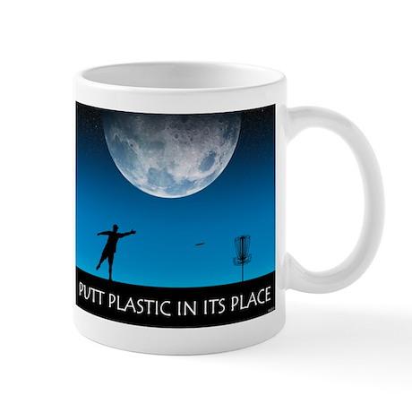 Putt Plastic In Its Place #6 Mug