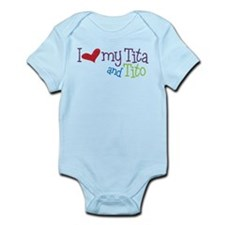 I Love My Tita and Tito Infant Bodysuit