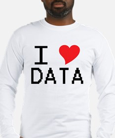 iheartdata Long Sleeve T-Shirt
