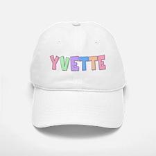 Yvette Rainbow Pastel Baseball Baseball Cap