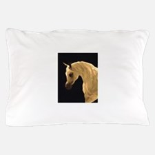AFTMGreyArabianStallionHeadNeck.jpg Pillow Case
